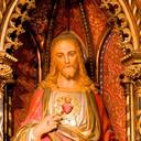 The Sacred Heart: detail