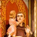 St Anthony of Padua: detail